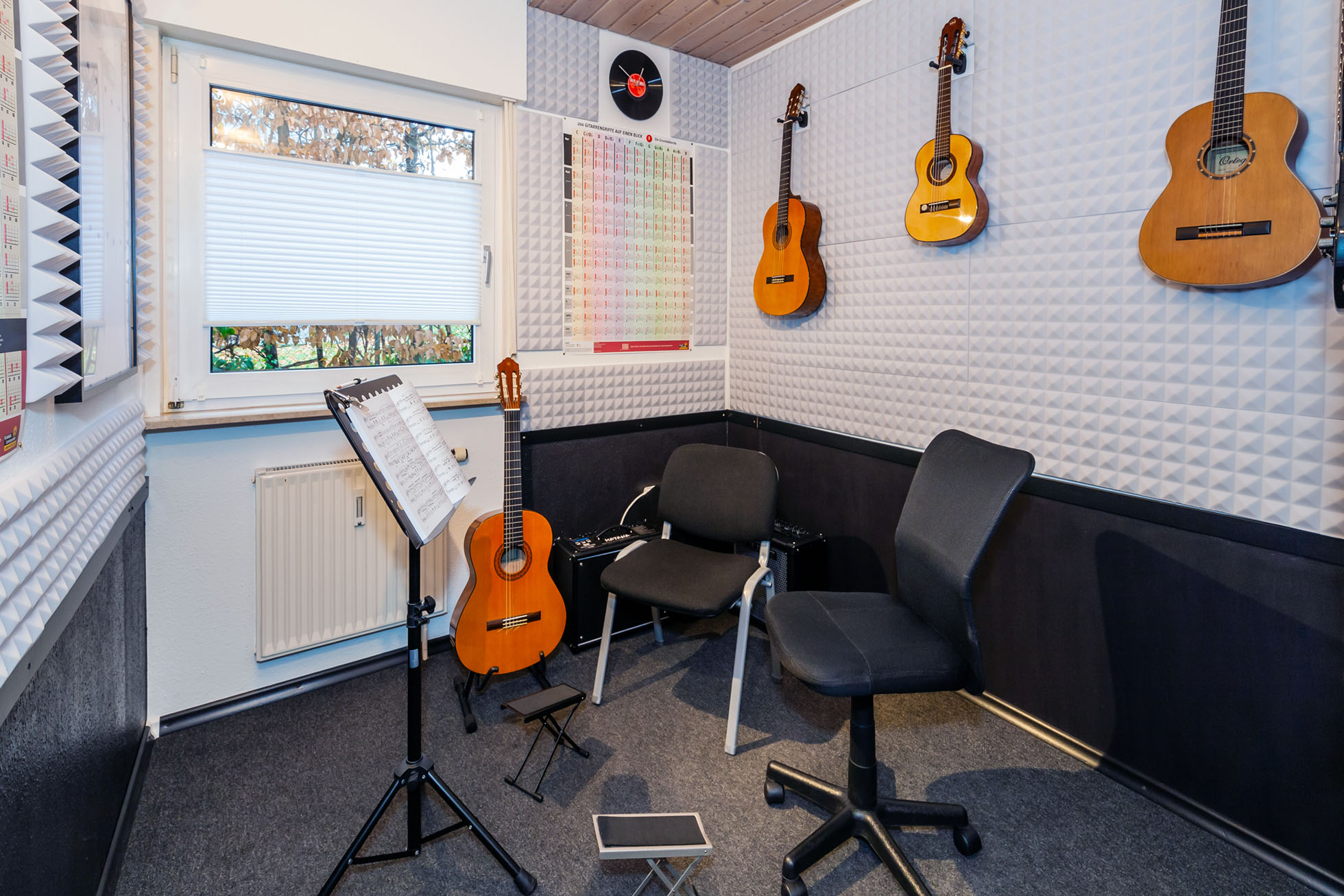 Gitarrenunterricht Ludwigsburg Musikbox - Raum 1