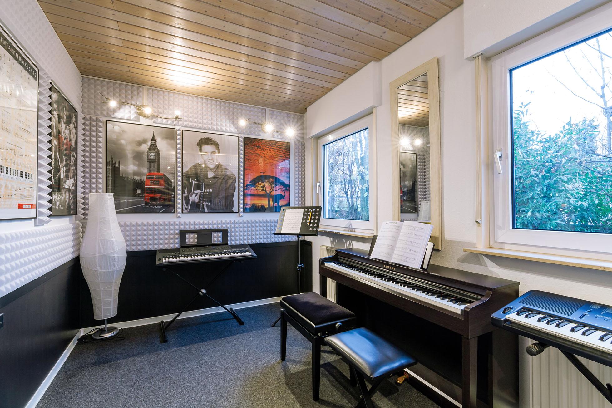 Klavierunterricht Ludwigsburg Musikbox - Raum 3