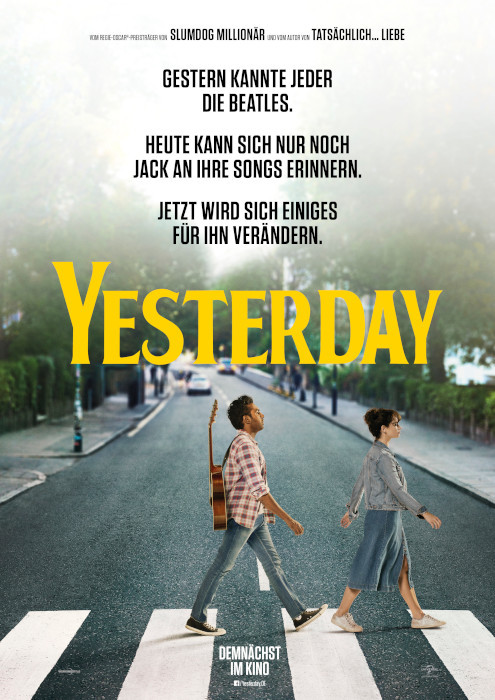 Yesterday - Beatles - Film